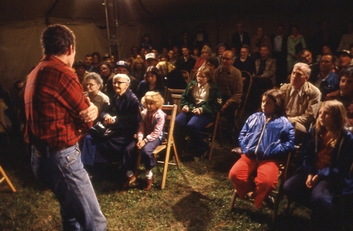 Roadside Theater Tent Tour Performance